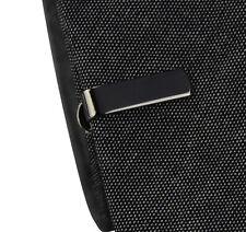 hommes 2cm noir gris super fin Pince à cravate à Clip acier inoxydable Clasp