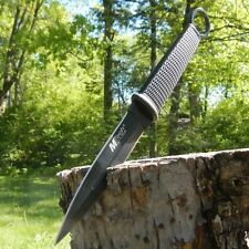 """10"""" TACTICAL HUNTING Throwing Combat FIXED BLADE KNIFE Double Edge w/ SHEATH"""