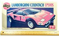 Vintage AIRFIX Lamborghini Countach LP500S 1:24 Scale Model Kit  ~ 30 Yrs Old!