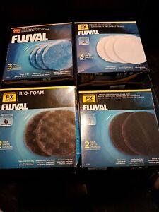 Fluval  A248 A249 A239 A246 Schaumstofffilter Aktivkohle geeignet FX4, FX5, FX6