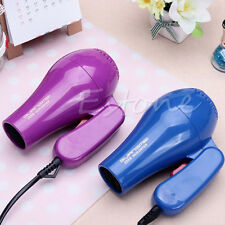 Portable Mini 850W Hair Blow Dryer Traveller Hair Dryer Compact Blower Foldable