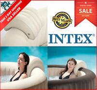 Intex PureSpa Hot Tub Convenient Removable Inflatable Headrest Relax Accessory