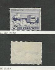 Iceland, Postage Stamp, #292 Mint Hinged, 1956