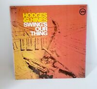 Hodges & Hines-Swings's Our Thing-Verve V6-8732-Vintage 1968 Gatefold LP-Jazz!!!