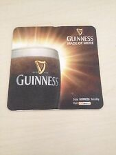 17 x GUINNESS IRISH DUBLIN BEER COASTER MAT Mats In Used Conduction