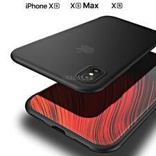 COVER per Apple Iphone XS / Max / XR CUSTODIA ULTRA SLIM SEMI TRASPARENTE OPACA