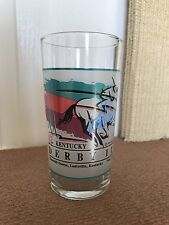 "1993 Kentucky Derby Glass Signed ""Pat Day"""