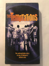 THE TEMPTATIONS MOTOWN,  STORY OF ONE OF MOTOWNS HOTTEST ACTS, VHS