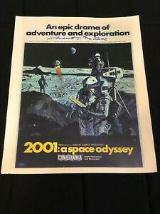 Robert McCall 2001: A Space Odyssey Rare Signed Autograph 11x14 Lobby Card Photo
