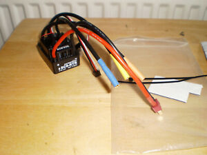 HOBBYWING 120A BRUSHLESS ESC EZRUN WP-SC8 RTR WATERPROOF FOR 1/8 1/10 R/C CARS