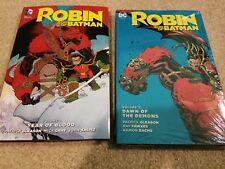 DC Comics Robin Son of Batman Vol 1+2 Hardcover HC FREE SHIPPING