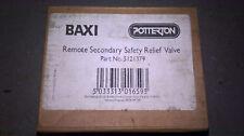 Baxi Remote Secondary Safety Relief Valve PRV Potterton