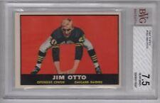 1961 Topps Jim Otto Oakland Raiders Card #182 BVG 7.5 NM+ 0006911697