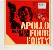 (GV510) Apollo Four Forty,  Heart Go Boom - 1999 DJ CD