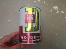 Midland Golden D Distance motor oil quart can, Minneapolis, Minnesota COOP