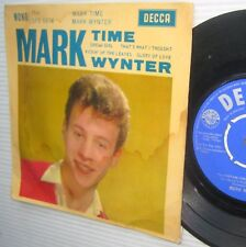 """MARK WYNTER Mark Time 7"""" 4 song Picture Sleeve EP UK Decca ffrr DFE 6674 C50"""