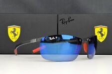 NEW Ray Ban RB8305M Scuderia Ferrari Collection Sunglasses Black/Blue Polarized