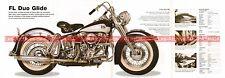 HARLEY DAVIDSON FL 1200 Duo Glide 1958 Fiche Moto 000493