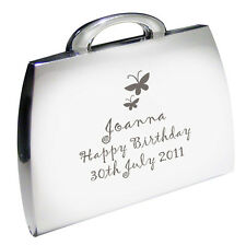 Personalised Butterfly Handbag Compact Mirror Birthday Gifts For Women P0102E29