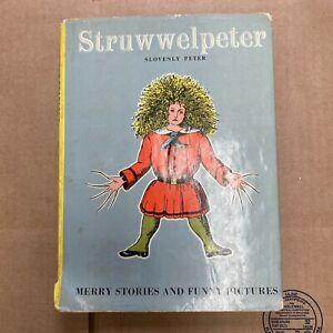 Struwwelpeter Slovenly Peter by Heinrich Hoffman 1960 Vintage Rare Hardcover