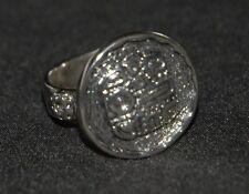 SILPADA - R1531 - Detailed Mosaic Sterling Silver Ring Sz 8 - RET - RARE! HTF!