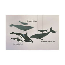 Skyflight Whale Combo Hanging Baby Educational Classroom Mobile Decor