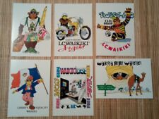 6 cartes postales publicitaires LC WAIKIKI