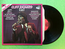 Cliff Richard Live!, 18 Great Songs, MFP-50307 Stereo, Ex- Condition Vinyl LP