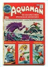 SUPER DC GIANT #S-26 - AQUAMAN - ORIGIN ISSUE - CLASSIC RAMONA FRADON ART - 1971