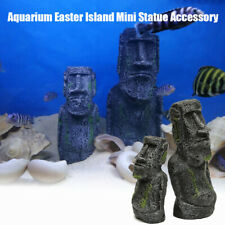 Easter Island Statues Aquarium Decorations Ancient Ruins Tank Aquascape Decor