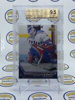 2005-06 Upper Deck Rookie Class Henrik Lundqvist Rookie Card Graded BGS 9.5 NHL