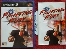 FIGHTING FURY ORIGINAL BLACK LABEL SONY PLAYSTATION 2 PS2 PAL