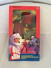MIB MOC MISB BIG JIM ADVENTURE SETS # 7151 MOTORCYCLE DRIVER 1984