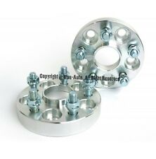 2 X Wheel Spacers 5X114.3 To 5X114.3   64.1 CB   12X1.5   1 Inch For Civic CR-V