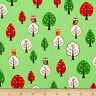 Forest Friends Cotton Fabric Tree with Owls  Robert Kaufman By the Yard  BFab
