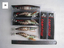 7pcs  EGI , 3.5g #3.5 Shrimp Bait Lures Fishing Lure Jig.13.5cm 26#