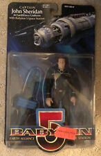 "Babylon 5 John Sheridan In EarthForce Uniform 6"" Action Figure 1997 *New"