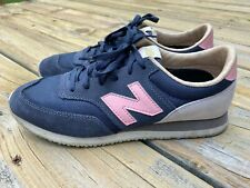 New Balance Heritage 620 Women's Shoes Navy Blue Pink Gray Size 8.5