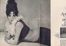 COUPURE DE PRESSE CLIPPING 1962 NATALIE WOOD  (4 pages)