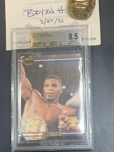 1991 Ringlords Promo Mike Tyson BCCG 9