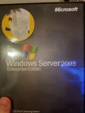 Microsoft Windows Server 2003 Enterprise Edition (Retail) (1 Server/s, 25 Clien…