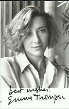 EMMA THOMPSON, b/w promo photograph, ORIGINALLY SIGNED!