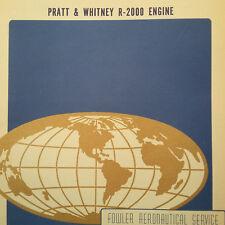 Pratt & Whitney R-2000 Engine Ground School Manual