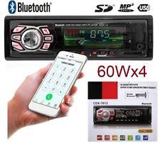 Radio para coche con bluetooth 60X4 MICRO-SD/USB/AUX FM MP3 Mando a distancia