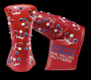 Scotty Cameron 2020 USA Mini Crown - Red - Headcover BNIB