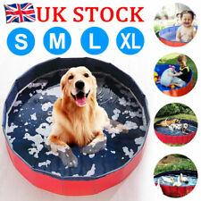 More details for portable pet bath dog swimming pool foldable bath paddling pool puppy bathtub uk