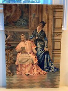 Listed Italian Artist Achille De Dominicis (1851-1917) Original Watercolor