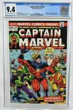 Captain Marvel #31 1974 CGC Graded 9.4 Jim Starlin Marvel Comics