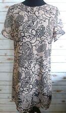 Signature Collection Womens Print Dress Size Medium 10-12