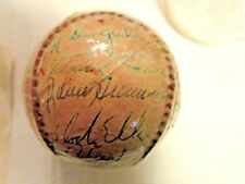 1974 Pittsburgh Pirates  Autographed Team Baseball  w/COA BP Sports Collectibles